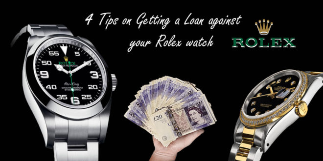 Loan against your Rolex watch